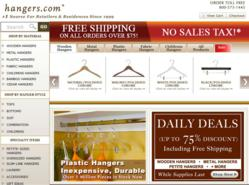 Hangers.com online store